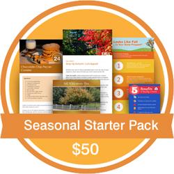 Seasonal Starter Pack - Fall